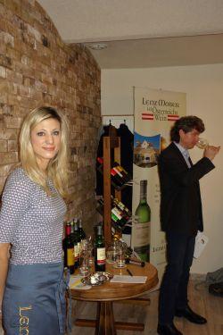 Degustace vín Lenz Moser