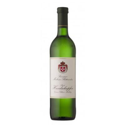 Víno Veltlínské zelené Hundschupfen řádu Maltézských rytířů  2016